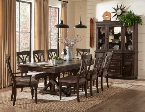 Cardano Dining Set - Driftwood Charcoal