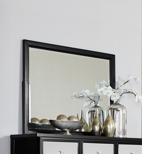 Odelia Mirror - Black