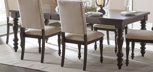 Begonia Dining Table - Grey