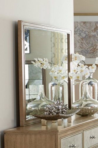 Kalette Mirror - Light Oak