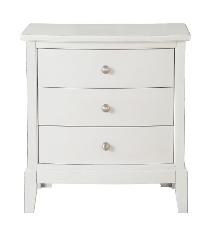 Cotterill Night Stand - White Finish over Birch Veneer