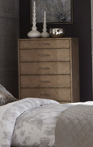 Homelegance Liatris Chest - Acacia Veneer with Gray Undertone