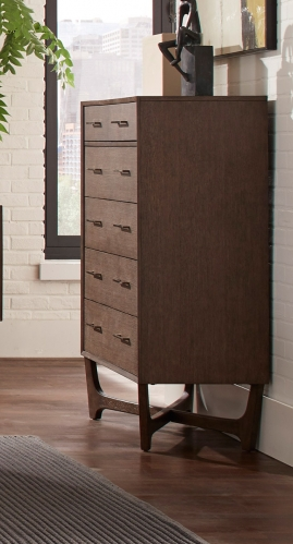 Ruote Chest - Brown-Gray