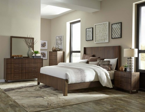 Gulfton Bedroom Set - Walnut