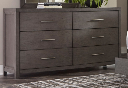 Fondren Dresser - Dark Gray/Brown