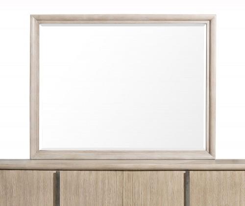 Homelegance McKewen Mirror - Light Gray