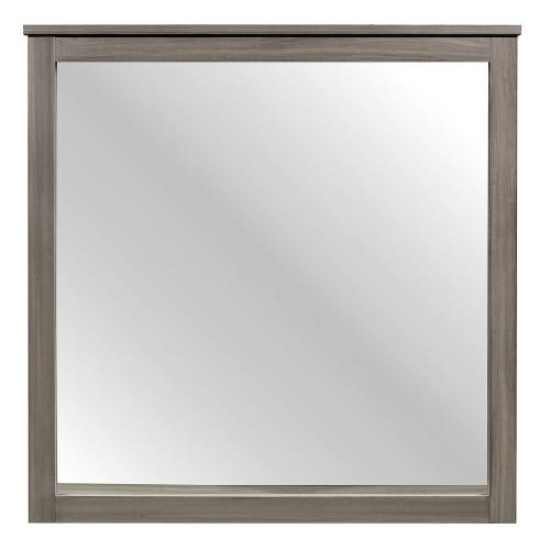 Waldorf Mirror - Gray Tone