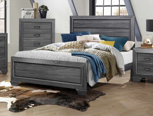 Beechnut Bed - Gray