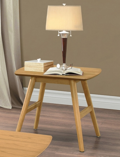 Anika End Table - Light Ash