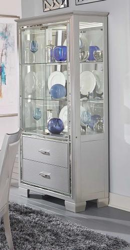 Homelegance Allura Curio - Silver