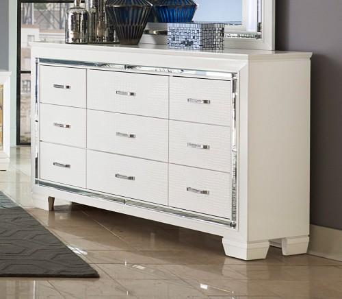Allura Dresser - White