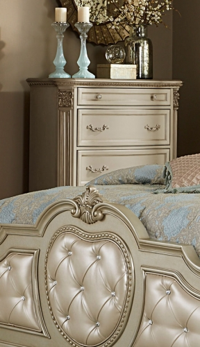 Homelegance Antoinetta Chest - Champagne