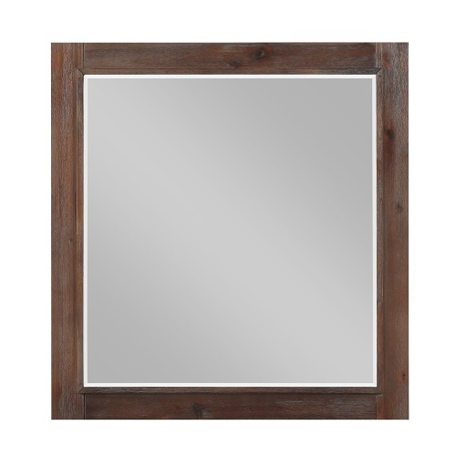 Homelegance Wrangell Mirror - Medium Cherry
