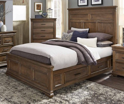 Narcine Platform Bed with Storage Drawers