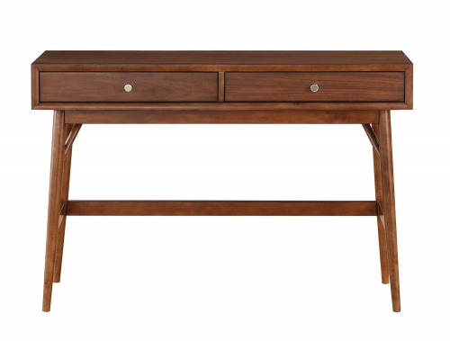 Homelegance Frolic Sofa Table with Two Functional Drawers - Brown