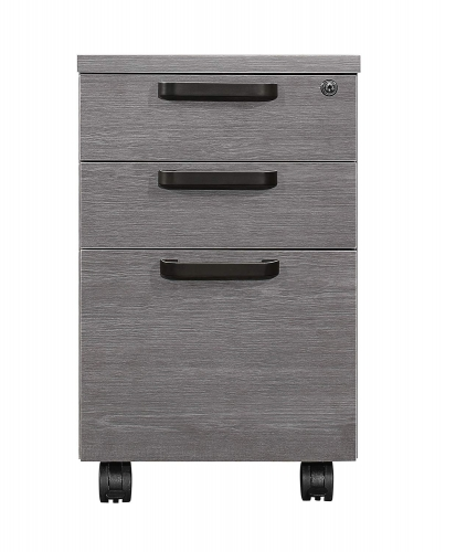 Dogue File Cabinet - Gunmetal - Gray