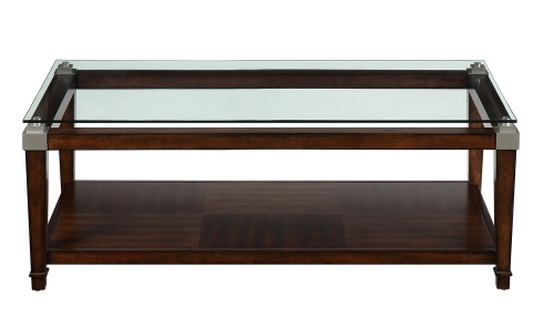 Paseo 3-Piece Cocktail/Coffee Tables - Cherry