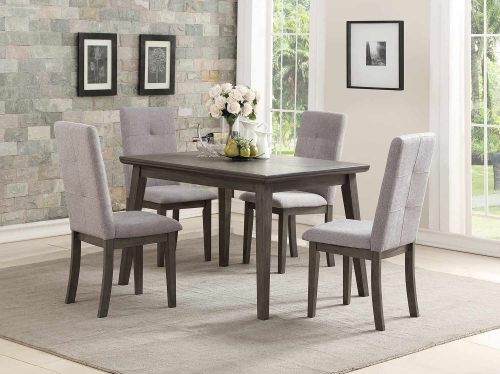 University Dining Set - Gray
