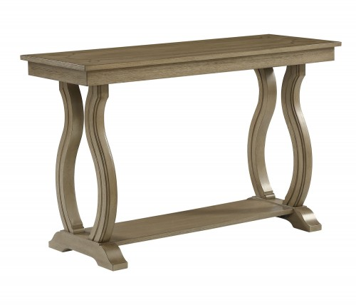 Vermillion Sofa Table - Bisque