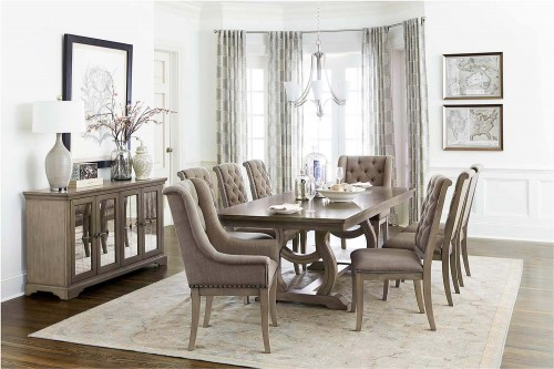 Vermillion Dining Set - Bisque