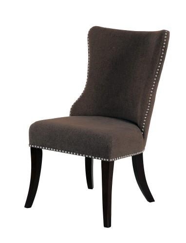 Homelegance Salema Side Chair - Chocolate - Dark Brown