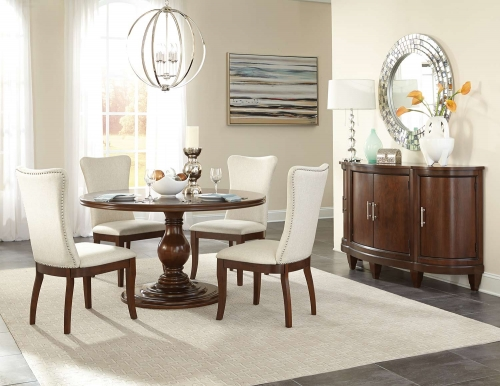 Oratorio Round Dining Set - Cherry