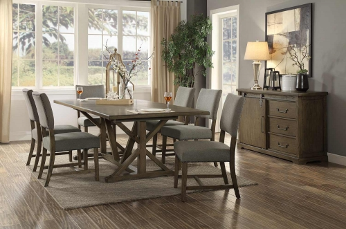 Wheaten Dining Set - Natural
