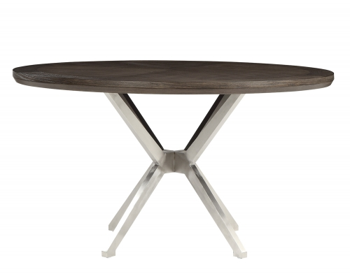Ibiza Round Dining Table - Light Oak