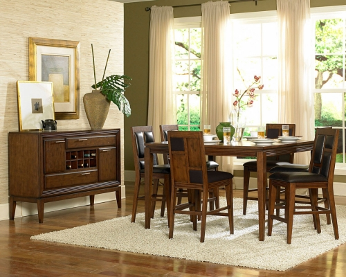 PUB DIN SET Huntington Counter Height Dining Collection 441 2765