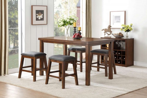 Brindle Counter Height Dining Set - Brown