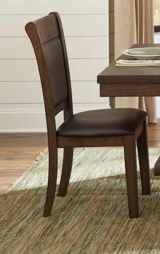 Wieland Side Chair - Light Rustic Brown