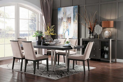 Standish Dining Set - Gray