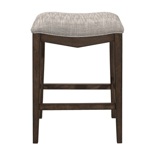 Kirke Counter Height Stool - Brown