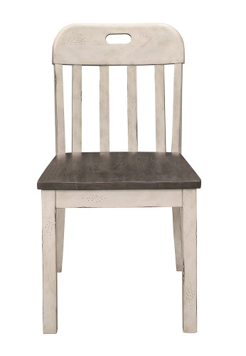 Clover Side Chair - Rustic Gray