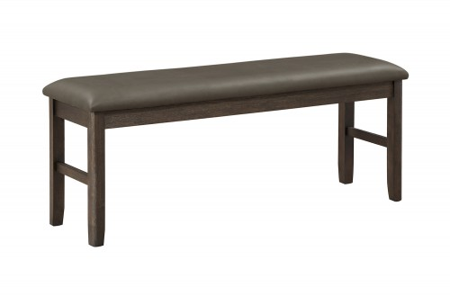 Brim Bench - Brown Cherry