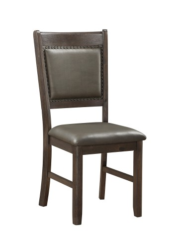 Brim Side Chair - Brown Cherry