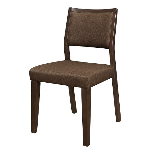 Steer Side Chair - Walnut 2-Tone