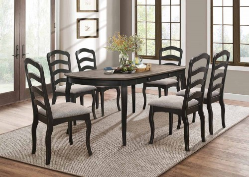 Coring Dining Set - Antique 2-Tone