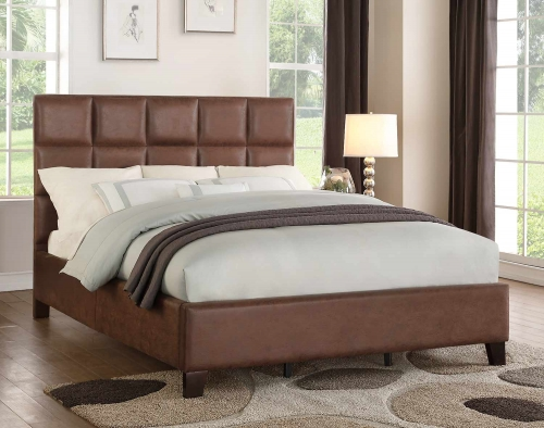 Kaydee Bed - Neutral Brown