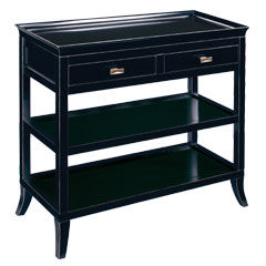 Tamara Hall Table - Ebony