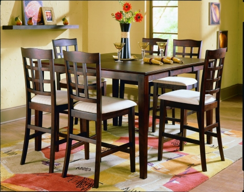 D Casual Pub Dining Collection Merlot 476 2841