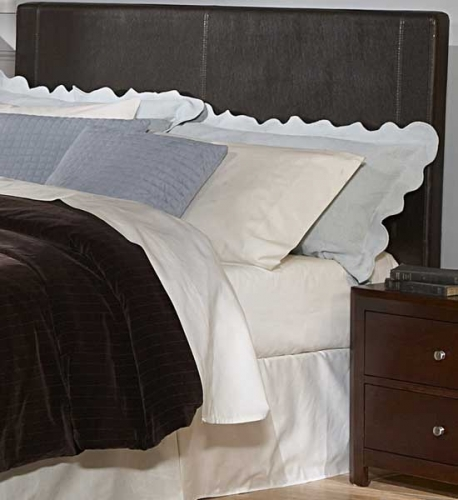 Copley Dark Brown Bi-Cast Vinyl Headboard