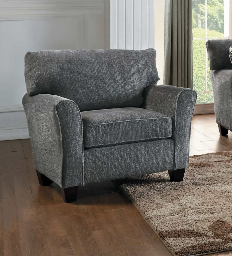 Homelegance Alain Chair - Gray