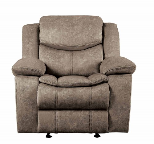 Bastrop Glider Reclining Chair - Brown