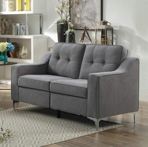 Murana Love Seat - Gray