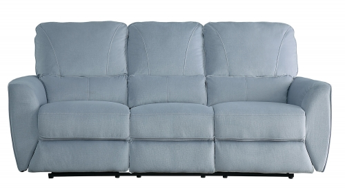 Dowling Double Reclining Sofa - Light Gray