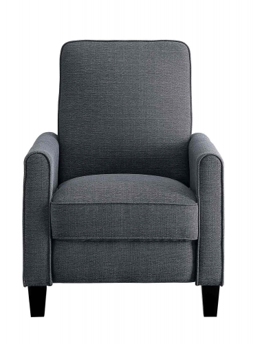 Darcel Push Back Reclining Chair - Gray
