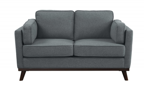 Bedos Love Seat - Gray