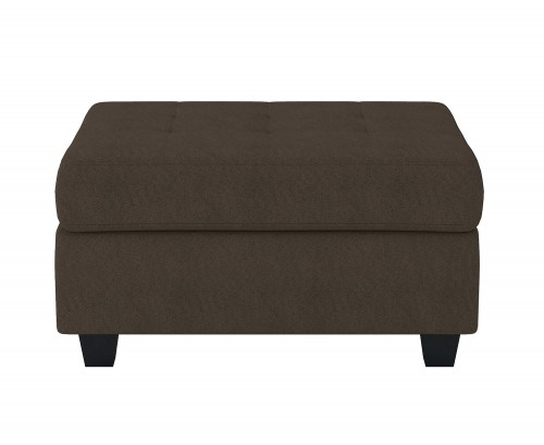 Maston Storage Ottoman - Chocolate