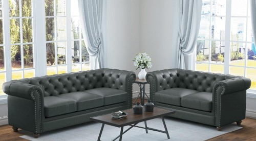 Wallstone Sofa Set - Gray